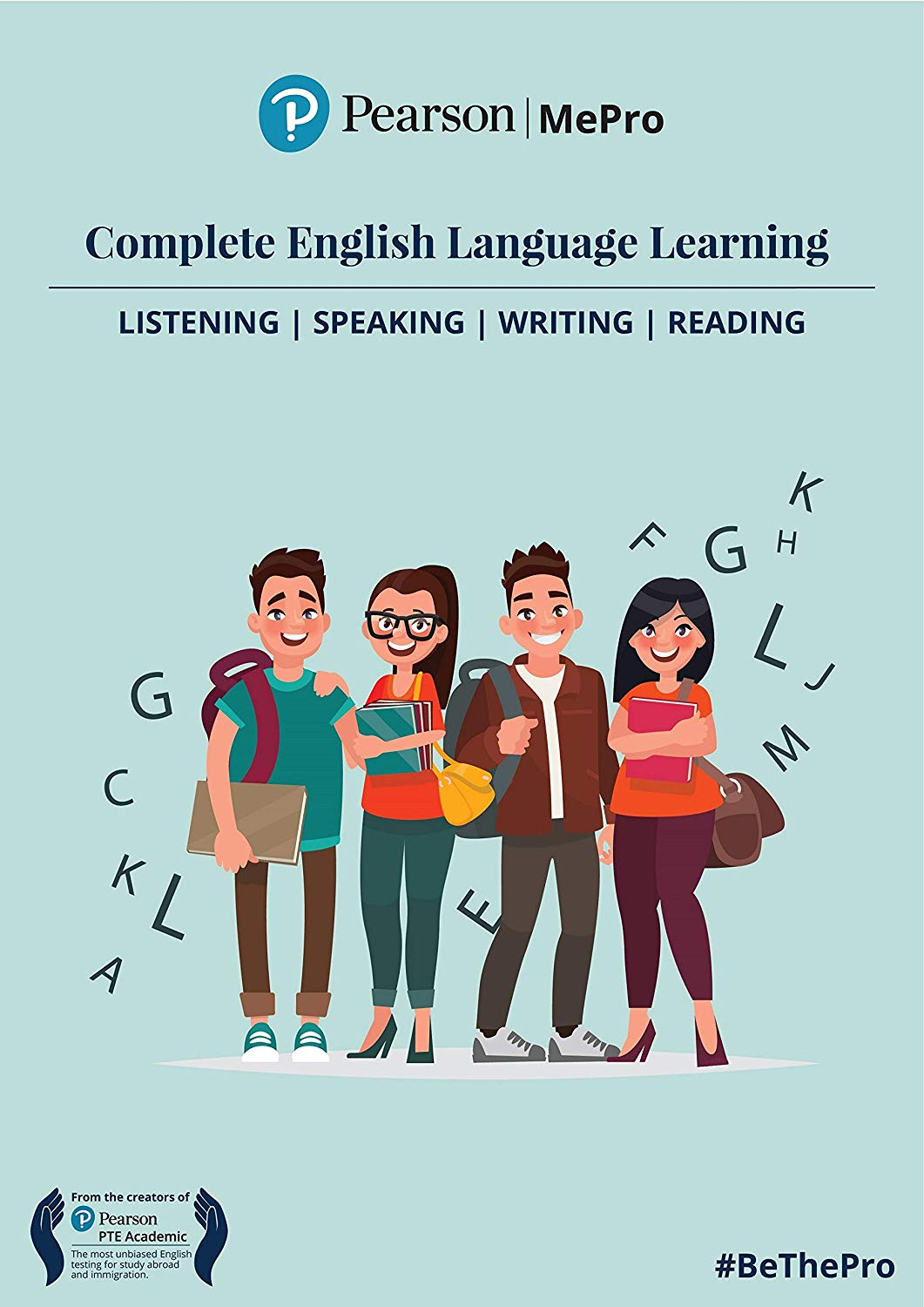 Pearson MePro | Master Essential Skills of English Speaking, Reading, Listening & Writin