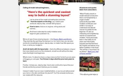 Model Railroad Guide And Print Out Buildings